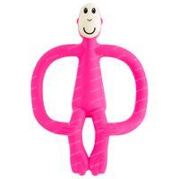 Matchstick Monkey Anneau de Dentition Rose 1 pièce