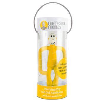 Matchstick Monkey Beißring Gelb 1 st
