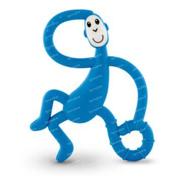 Matchstick Monkey Dancing Anneau de Dentition Bleu Foncé 1 pièce