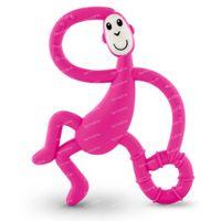 Matchstick Monkey Dancing Anneau de Dentition Rose 1 pièce