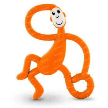 Matchstick Monkey Dancing Anneau de Dentition Orange 1 pièce