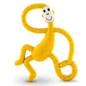Matchstick Monkey Dancing Bijtring Geel 1 stuk