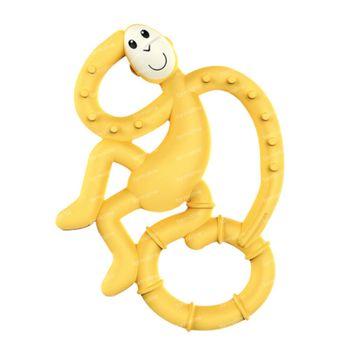 Matchstick Monkey Mini Anneau de Dentition Jaune 1 pièce