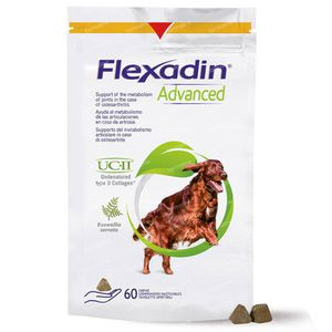 Flexadin Advanced + Boswellia Chien 60 comprimés à croquer