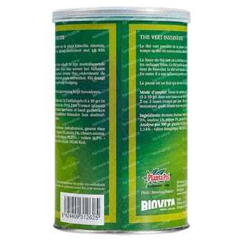 Plantapol Thé Vert Instant 200 g