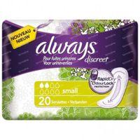Always Discreet Inkontinenz Einlagen Small 20 st