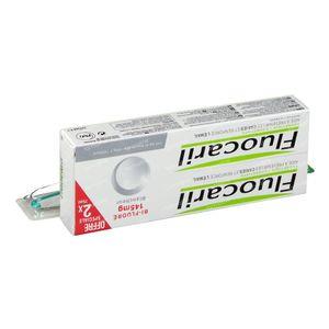 Fluocaril Toothpaste Bi-Fluoré 145 White Duo + Toothbrush for FREE 2x75 ml