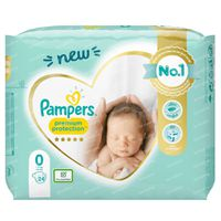 Pampers Premium Protection Carry S0 24 stuks