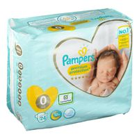 Pampers Premium Protection Carry S0 24 pièces