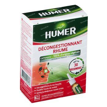 HUMER Spray Nasal Rhume Décongestionnant 20 ml spray