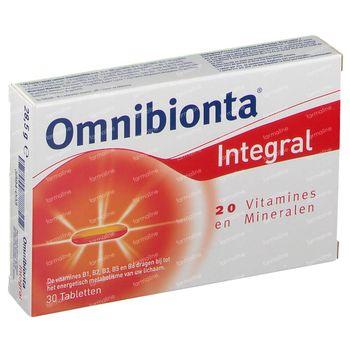 Omnibionta Integral 30 comprimés