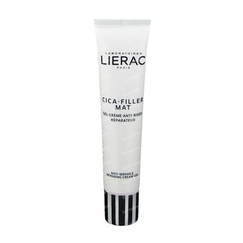 Lierac Cica-Filler Mat Gel-Crème Anti-Rides Réparateur 40 ml