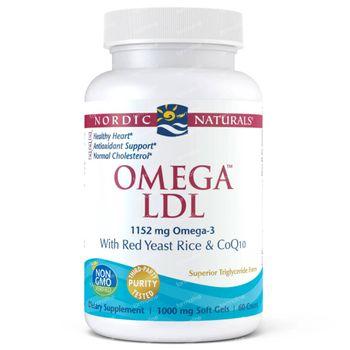 Nordic Naturals Omega LDL 60 capsules