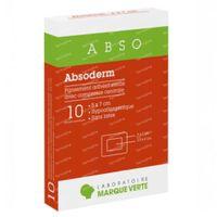 Abso Absoderm Steriel 5x7cm 10 stuks