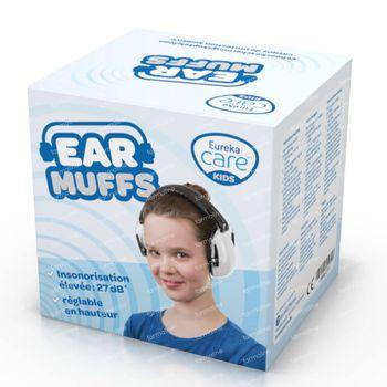 Eureka Care Gehoorbescherming Koptelefoon 3-12 Jaar Wit 1 pièce