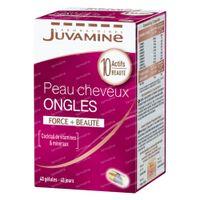Juvamine Peau - Cheveux - Ongles 40  capsules