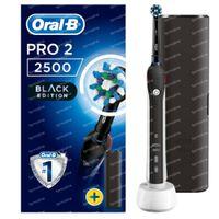 Oral B Pro 2 2500 Black Edition Brosse à Dents Électrique 1  set
