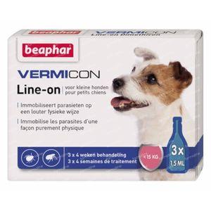 Vermicon Line-On Kleine Hond 3x1.5 ml