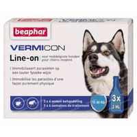 Vermicon Line-On Middelgrote Hond 3x3 ml