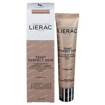Lierac Teint Perfect Skin SPF20 01 Beige Clair 30 ml