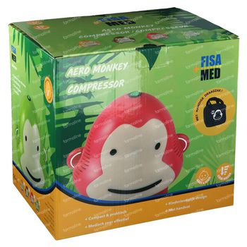 Fisamed Aero Monkey Compressor Vert 1 pièce