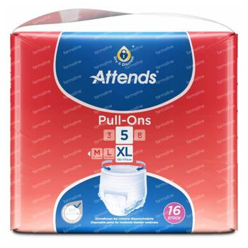 Attends Pull-Ons 5 Extra Large 16 slips