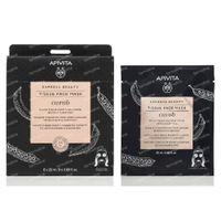 Apivita Express Beauty Tissue Gelaatsmasker Carob 15 ml