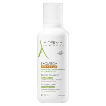 A-Derma Exomega Control Baume Émollient Prix Réduit 400 ml