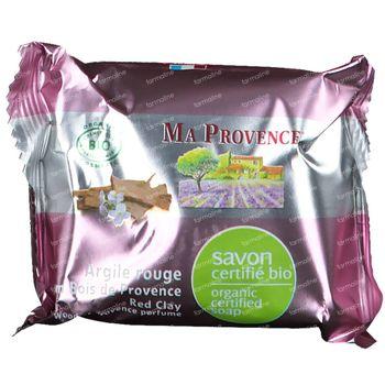 Ma Provence Savon Argile Rouge Bio 75 g