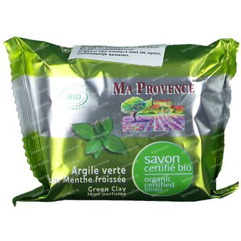 Ma Provence Savon Argile Verte Bio 75 g