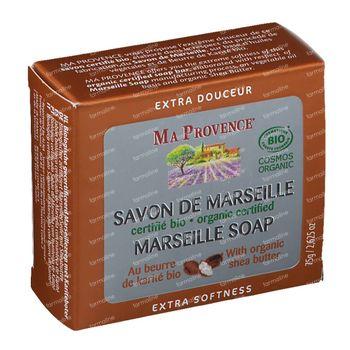 Ma Provence Savon de Marseille et Beurre Karité Bio 75 g