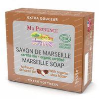 Ma Provence Soap Marseille and Shea Butter Bio 75 g