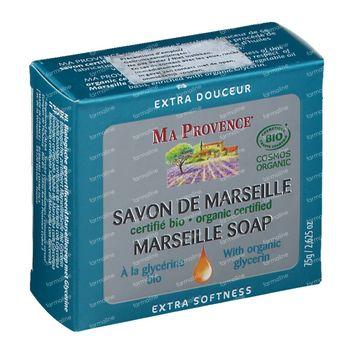 Ma Provence Savon de Marseille et Glycerine Bio 75 g
