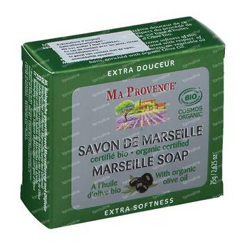 Ma Provence Savon de Marseille et Huile Olive Bio 75 g