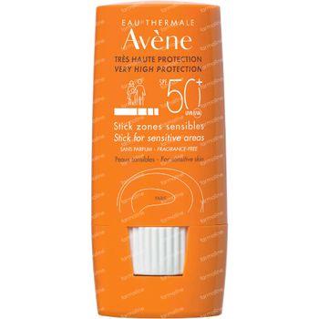 Avène Zonnecrème Stick voor Gevoelige Zones SPF50+ 8 ml