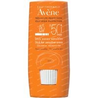 Avène Soleil Stick Zones Sensibles SPF50+ 8 ml