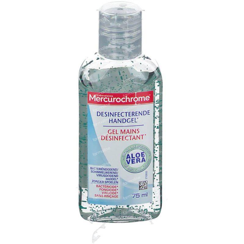 Mercurochrome Gel Mains Desinfectant Antibacterien 75ml
