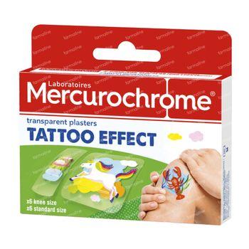 Mercurochrome Pansements Tattoo 12 pièces