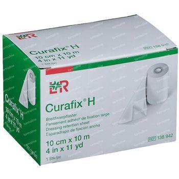 Curafix H Pansement de Fixation Large 10cmx10m 1 pièce
