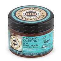 Planeta Organica Biologisch Haarmasker Kokosnoot 300 ml