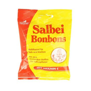 Hubner Bonbons Salie met Vitamine C 40 g