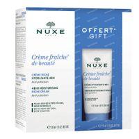 Nuxe Crème Fraîche de Beauté Dry Skin Gift Set 1  shaker