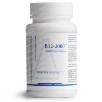 Biotics B12 2000 mcg 60 zuigtabletten