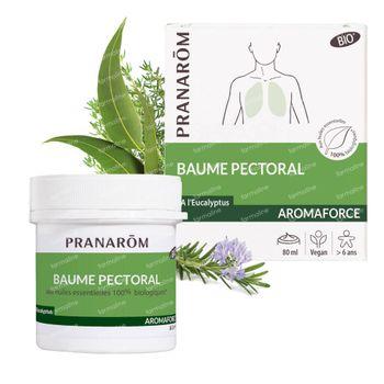 Pranarôm Aromaforce Bio Borstbalsem 80 ml