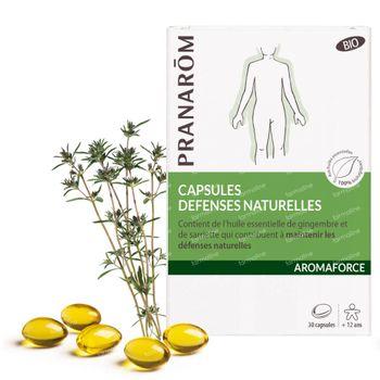 Pranarôm Aromaforce Capsules Défenses Naturelles 30 capsules