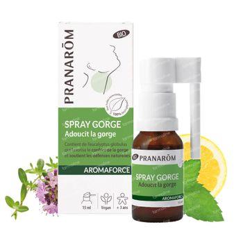Pranarôm Aromaforce Bio Keelspray 15 ml