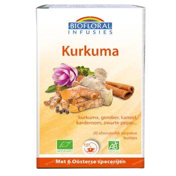 Biofloral Kruidenthee Kurkuma Bio 20 zakjes