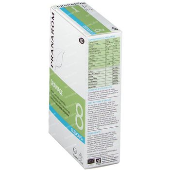 Pranarôm Oleocaps+ 8 Détox Bio 30 capsules