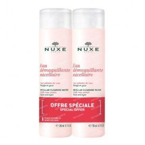Nuxe Reinigungs Mizellar Wasser mit Roseblättern DUO 2x200 ml
