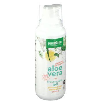 Purasana Aloë Vera Gel Huile Essentiel Bio 200 ml